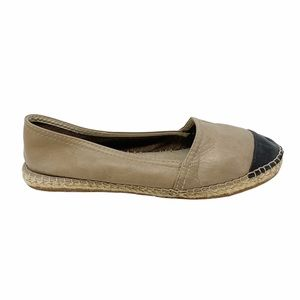 Browns | Two Tone Leather Espadrilles
